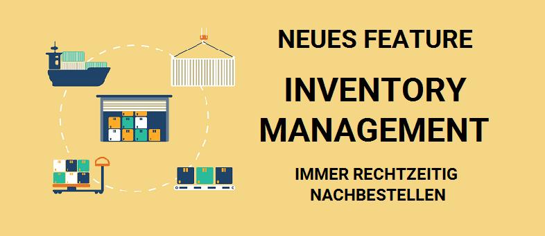 Amazon Inventory Management Tool - Immer rechtzeitig nachbestellen