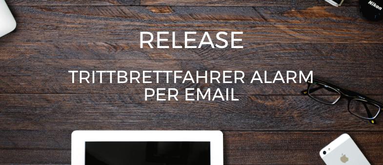 Release Hijacker Alarm per Email